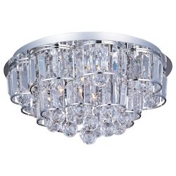 ET2 Bangle 12-Light Flush Mount