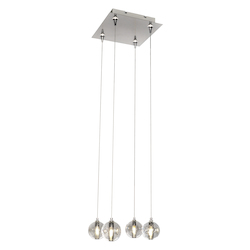 ET2 Harmony 4-Light Rapidjack Pendant And Canopy