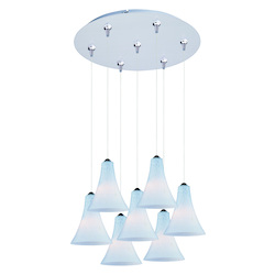 ET2 Minx 7-Light Rapidjack Pendant And Canopy