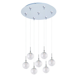 ET2 Starburst 7-Light Rapidjack Pendant And Canopy