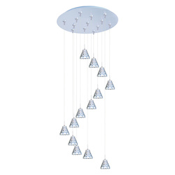ET2 Minx 13-Light Rapidjack Pendant And Canopy