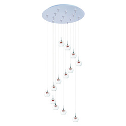 ET2 Starburst 13-Light Rapidjack Pendant And Canopy