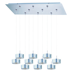 ET2 Percussion 10-Light Rapidjack Pendant And Canopy