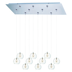 ET2 Starburst 10-Light Rapidjack Pendant And Canopy