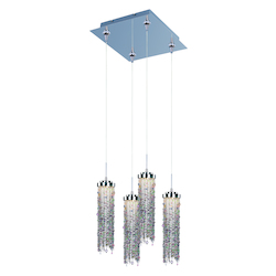 ET2 Bianca 4-Light Led Rapidjack Pendant And Canopy