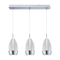 ET2 Luxe 3-Light Led Rapidjack Pendant And Canopy