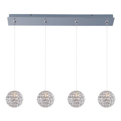 ET2 Brilliant 4-Light Rapidjack Pendant And Canopy