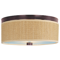 ET2 Open Box Elements 3-Light Flush Mount
