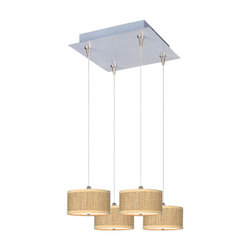 ET2 Elements 4-Light Rapidjack Pendant And Canopy