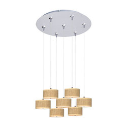 ET2 Elements 7-Light Rapidjack Pendant And Canopy