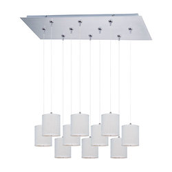ET2 Elements 10-Light Rapidjack Pendant And Canopy