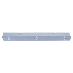 ET2 Open Box Polished Chrome Rapidjack 3 Light Linear Canopy