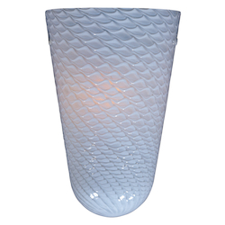 ET2 White Ripple Glass
