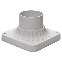 Maxim White Pier Mount