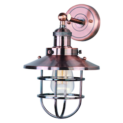 Maxim Mini Hi-Bay 1-Light Wall Sconce