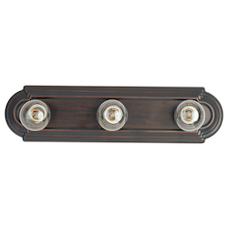 Maxim Three Light Oil Rubbed Bronze Vanity