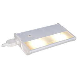 Maxim White Clear Glass Led Undercabinet Light
