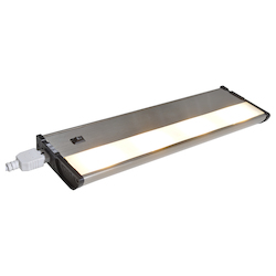 Maxim Satin Nickel Clear Glass Led Undercabinet Light