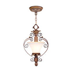 Livex Lighting Venetian Patina Up Pendant