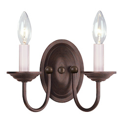 Livex Lighting Imperial Bronze Wall Light