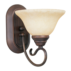Livex Lighting Imperial Bronze Bathroom Sconce