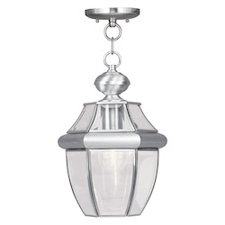 Livex Lighting Brushed Nickel Hanging Lantern