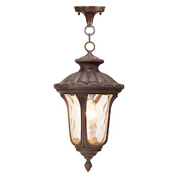 Livex Lighting Imperial Bronze Hanging Lantern