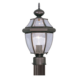 Livex Lighting Bronze Post Light