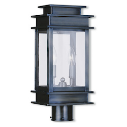 Livex Lighting Vintage Pewter Post Light