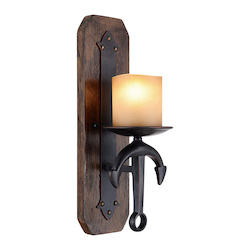 Livex Lighting Olde Bronze Cape May 1 Light Wall Sconce