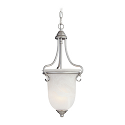 Livex Lighting Brushed Nickel Foyer Hall Pendant
