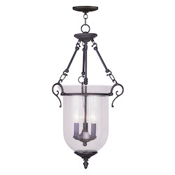 Livex Lighting Bronze Foyer Hall Pendant