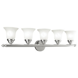 Livex Lighting Chrome Vanity