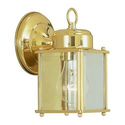 Livex Lighting Six Light Polished Brass Wall Lantern