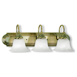 Livex Lighting Antique Brass Vanity