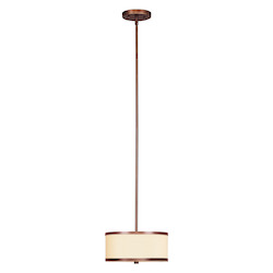 Livex Lighting Vintage Bronze Park Ridge 2 Light Pendant