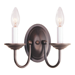 Livex Lighting Bronze Wall Light