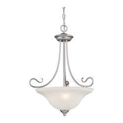Livex Lighting Brushed Nickel Up Pendant