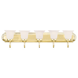 Livex Lighting Polished Brass Vanity