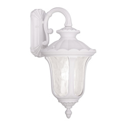 Livex Lighting Three Light White Wall Lantern