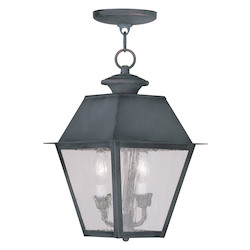 Livex Lighting Charcoal Hanging Lantern