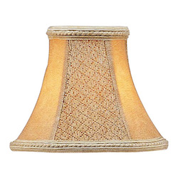 Livex Lighting Tan Suede Bell Clip Shade Chandelier Shade With Tan Suede Bell Clip Shade