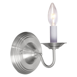 Livex Lighting Brushed Nickel Wall Light