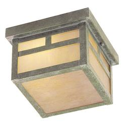 Livex Lighting Verde Patina Outdoor Flush Mount