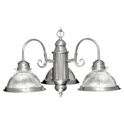 Livex Lighting Brushed Nickel Down Chandelier
