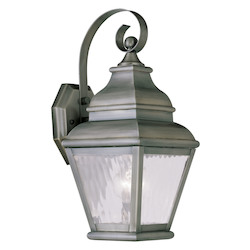 Livex Lighting Vintage Pewter Wall Lantern