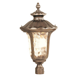 Livex Lighting Moroccan Gold Post Light