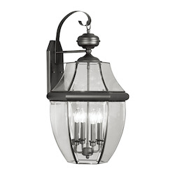Livex Lighting Black Wall Lantern