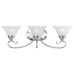 Livex Lighting Three Light Chrome Vanity