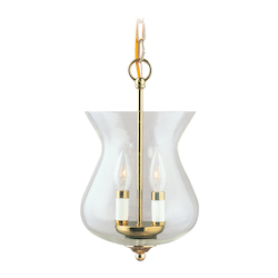 Livex Lighting Polished Brass Foyer Hall Pendant